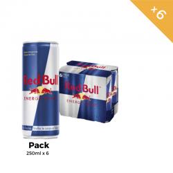 Red bull 250ml Pack 6