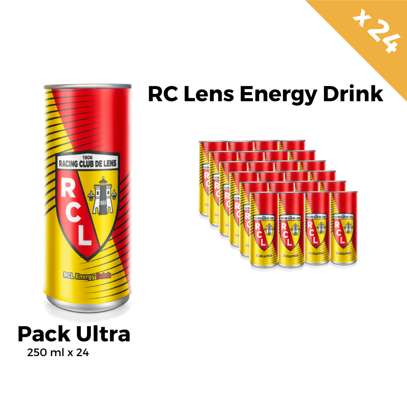 RC Lens Energy Drink Pack Ultra 24 Canettes