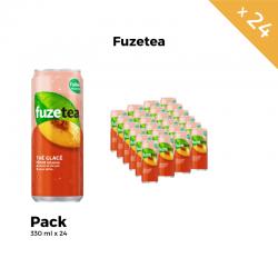 Fuzetea Pêche Intense 330 ml (pack de 24)