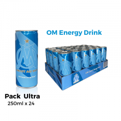 OM Energy Drink Pack Ultra 24 Canettes