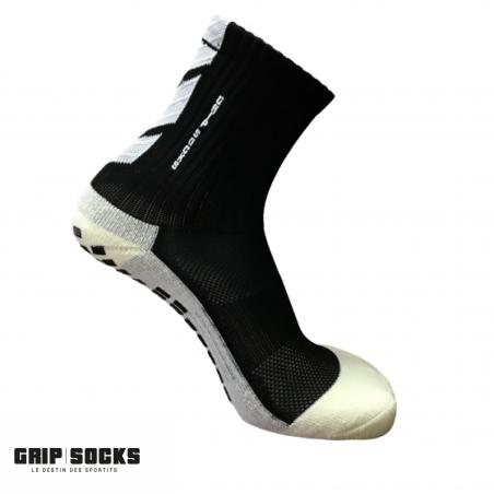 GRIP SOCKS  Chaussettes de Sport Antidérapantes NOIRE